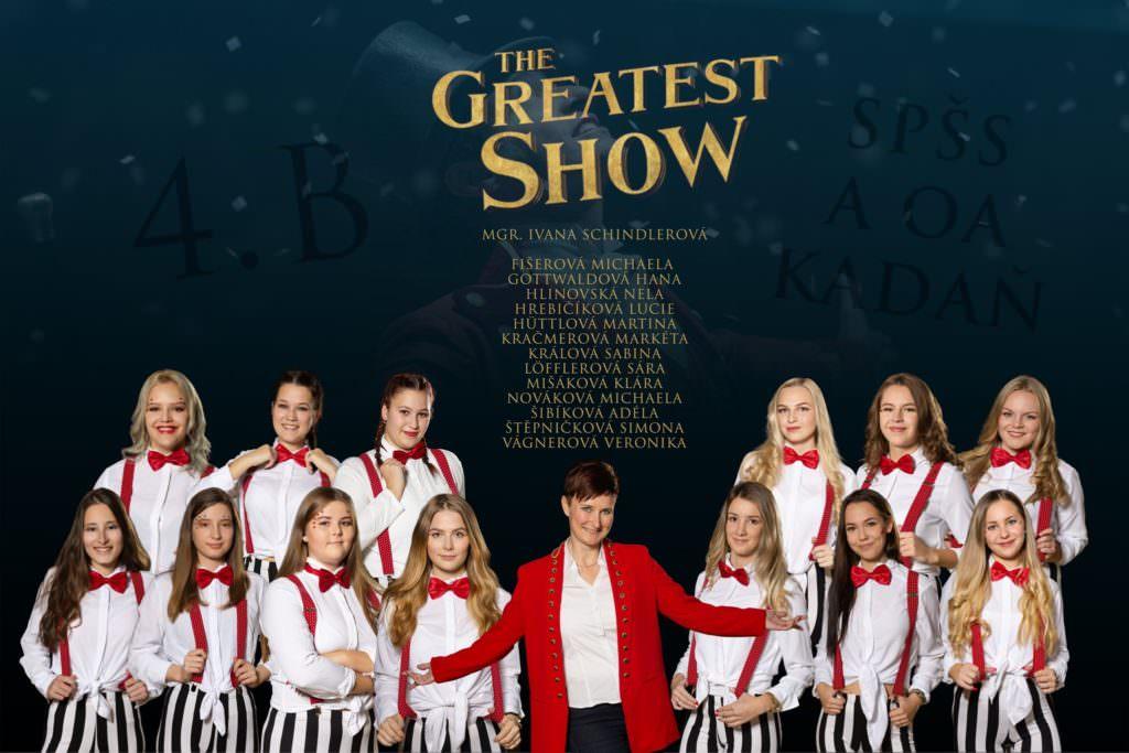 Maturitní tablo the Greatest Show